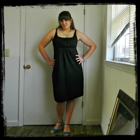 And this is the last time I was on my journey to being fit and slim. This was 2012, I believe I had just found out I was pregnant with my third baby. (Again, size 12)